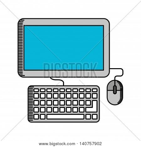 desktop computer desktop icon vector isolated vector isolated graphic vector isolated design
