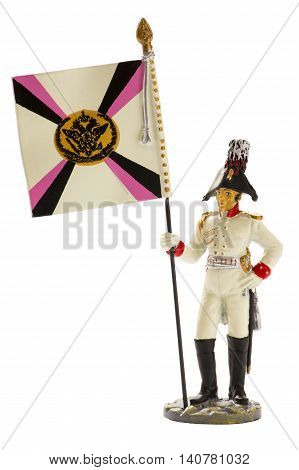 Adjutant general's cavalry, 1807-1814, on a white background