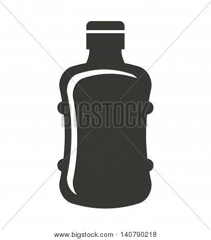 big bottle water icon vector illustration design