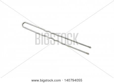 Hairpin isolated on white