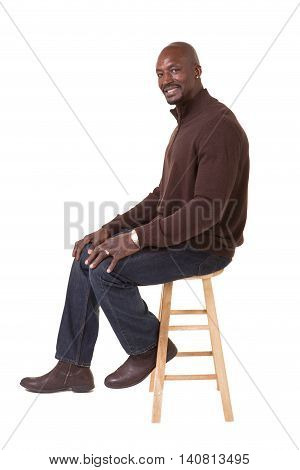 Portrait of a middle aged man isolated on white