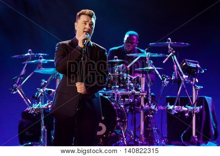 NEW  YORK-NOV 13: Sam Smith performs on stage during VH1's 2nd Annual 'You Oughta Know Live In Concert' 2014 at Hammerstein Ballroom on November 13, 2014 in New York City.
