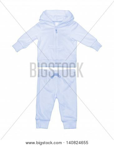 Baby suit isolated on a white background