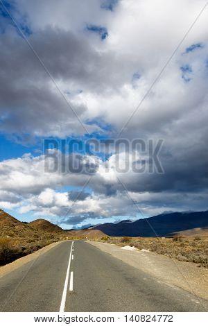 Dark Clouds Over The Mountains - Klaarstroom Landscape