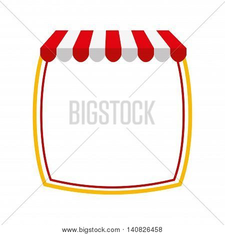 parasol store shop icon vector illustration design