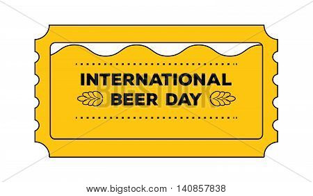 Ticket Beer Day