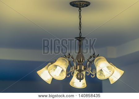Ceiling lamp for interior decoration old style celling lamp.
