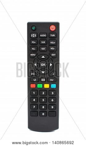 TV remote television, multimedia on a white background