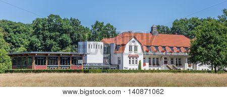 Josef Pieper School Building At The Saline Gottesgabe Near Rheine