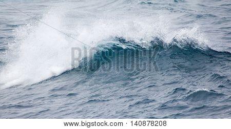 Ocean Waves Breaking