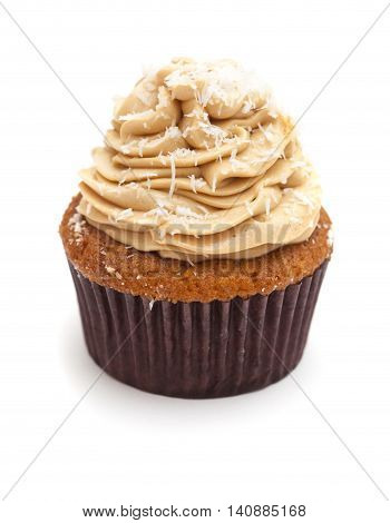 Toffee And Coconut Cupcake
