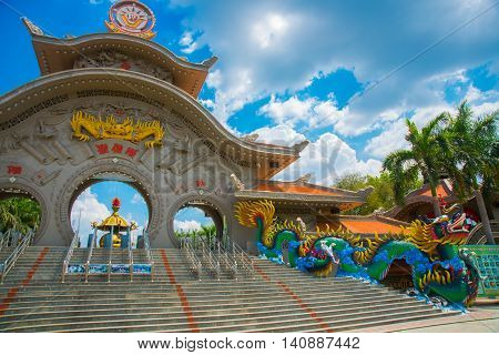 Ho Chi Minh City, Vietnam, The Suoi Tien Park In Saigon.