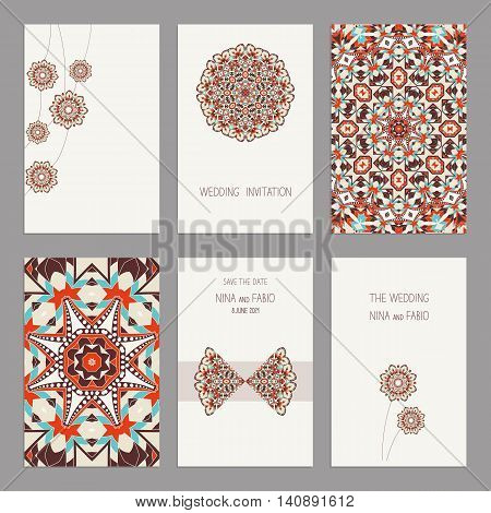 Floral motifs. Oriental pattern. Mandala.  Arabic, Islamic, asian, indian, native african motifs.
