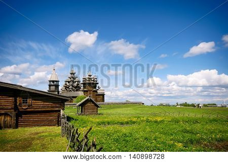 Church of the Transfiguration island of Kizhi Karelia Russia