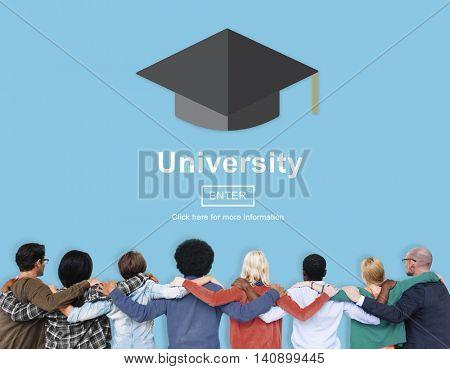 University Campus College Community Education Concept