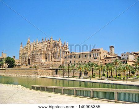 Cathedral La Seu Palma de Mallorca Spain