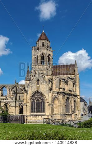 Church St. Etienne-le-Vieux (Old St. Stephen's) Caen France