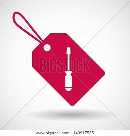 Isolated Label With A Spanner