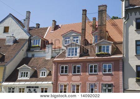Telhados de Riga