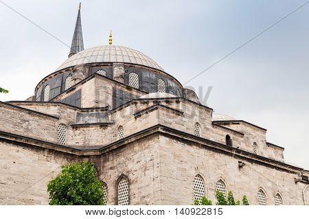 Atik Ali Camii. Old Mosque Exterior