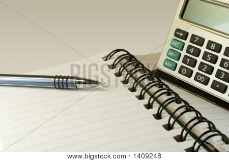 Working Tools Of The Businessman.