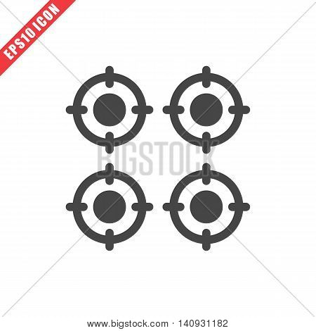 Vector Illustration Of Gas Stove Icon