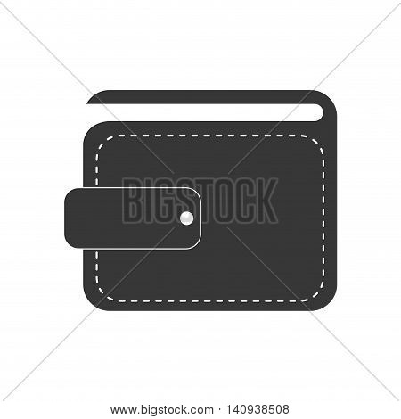 wallet payment money shopping icon. Isolated and flat illustration. Vector graphic