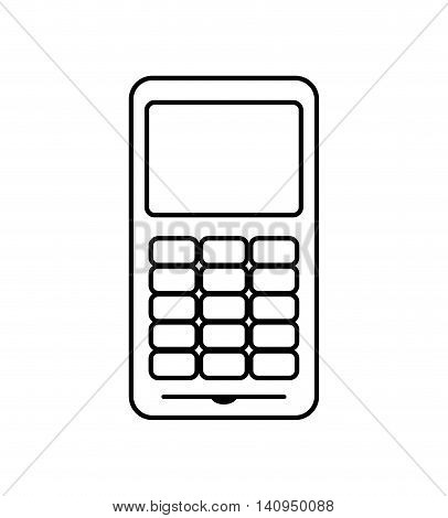 Dataphone money payment buy icon. Isolated and flat illustration. Vector graphic