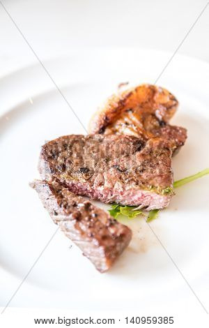 beef steak grilled gourmet cuisine food