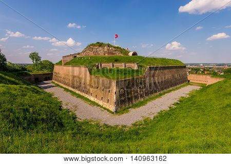 Fortress of Sint-Pieter in Maastricht, The Netherlands