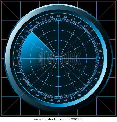 Radarschirm (Sonar)