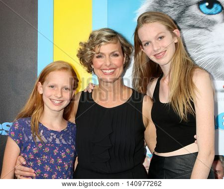 LOS ANGELES - AUG 1:  Piper Jackson, Melora Hardin, Rory Jackson at the