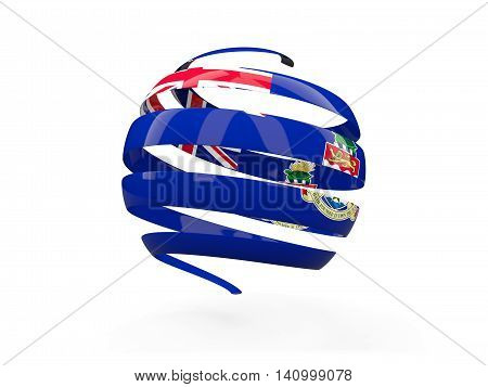 Flag Of Cayman Islands, Round Icon