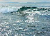 Постер, плакат: Волны на море