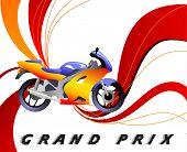 Постер, плакат: гонки вектор