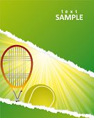 stock photo of deuce  - tennis poster - JPG