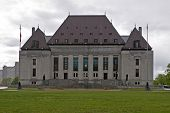 picture of supreme court  - Supreme Court of Canada in Ottawa Ontario - JPG