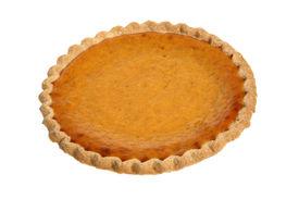 foto of pumpkin pie  - Pumpkin Pie - JPG