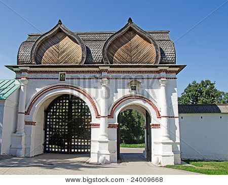Gate At Russian Kolomenskoe