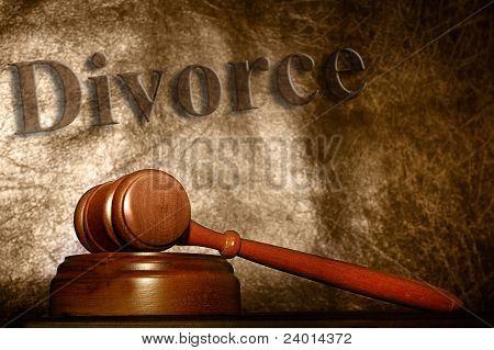 corte de divórcio