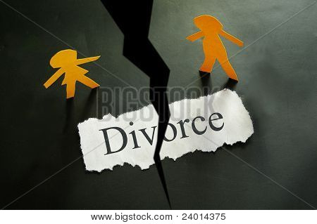 divorce split