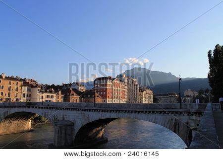 Bridge over Isere