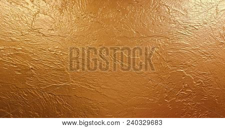 Gold Background Paper Texture Is