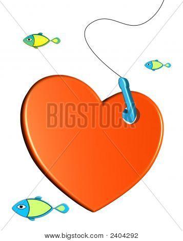 Heart On Hook