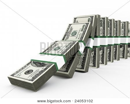 dollars domino