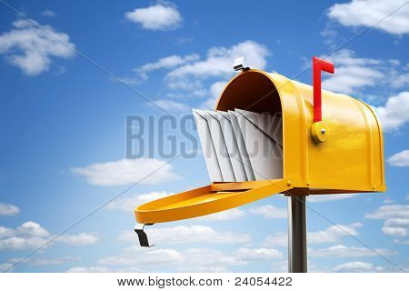 Gelbe Postfach