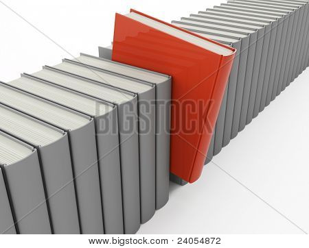 One diffrent red book