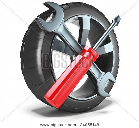 Wheel and Tools