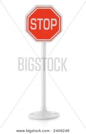 Toy Road Sign Stop