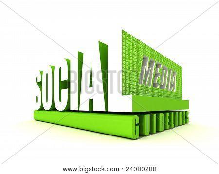 Directrices de las redes sociales
